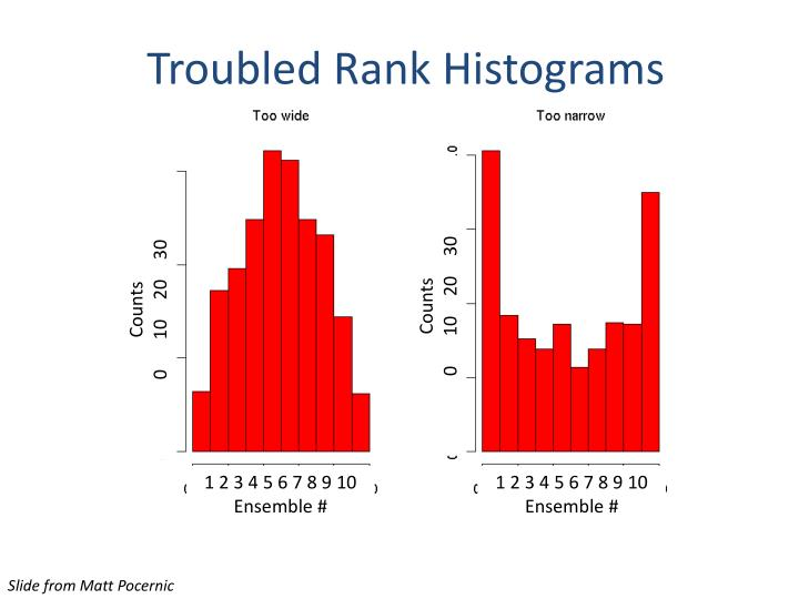 Troubled Rank Histograms