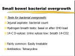 small bowel bacterial overgrowth3