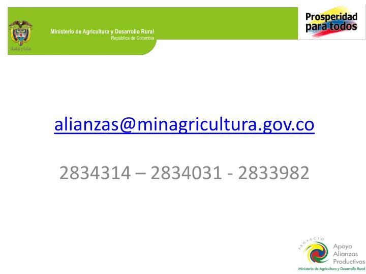 alianzas@minagricultura.gov.co