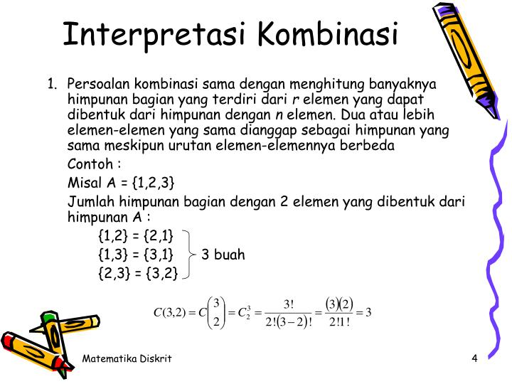 Interpretasi Kombinasi