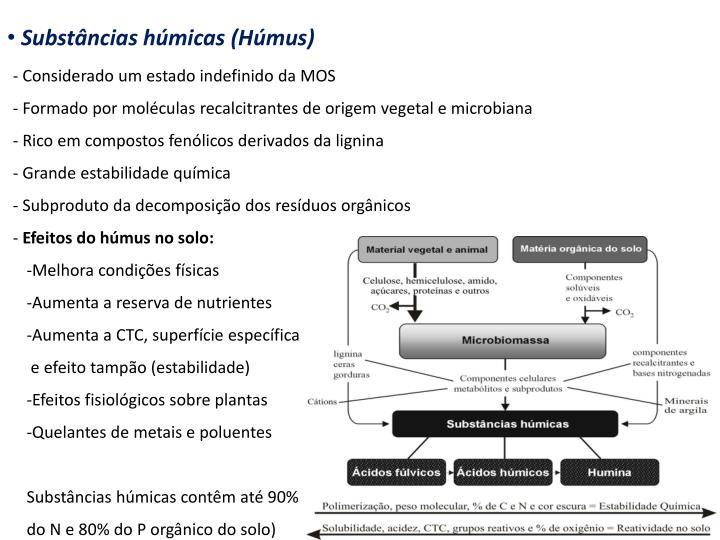 Substncias hmicas (Hmus)