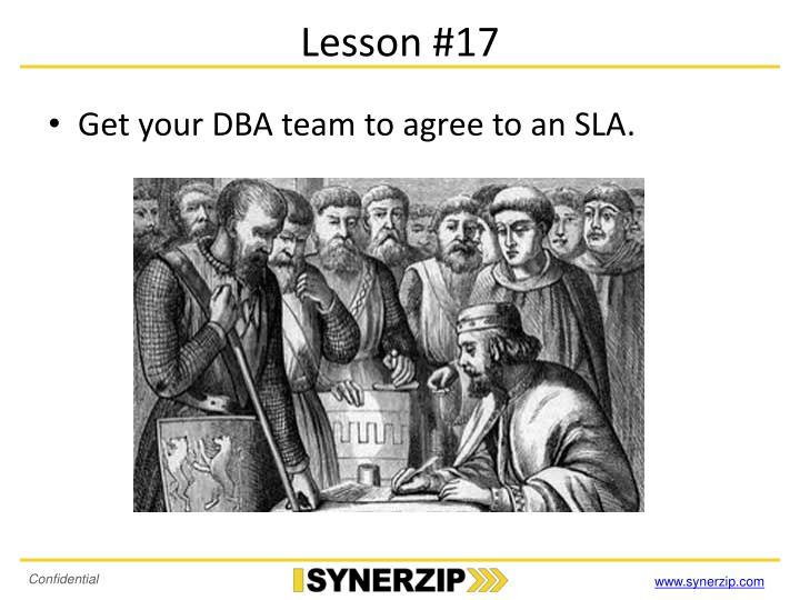 Lesson #17