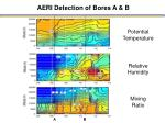 aeri detection of bores a b