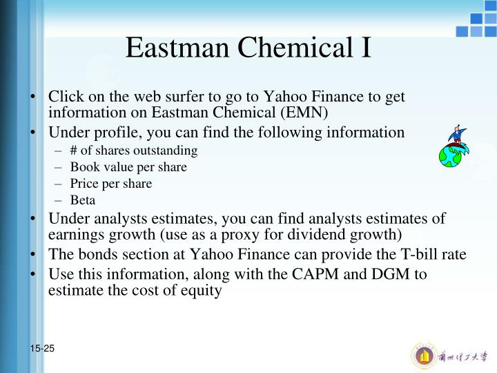 Eastman Chemical I