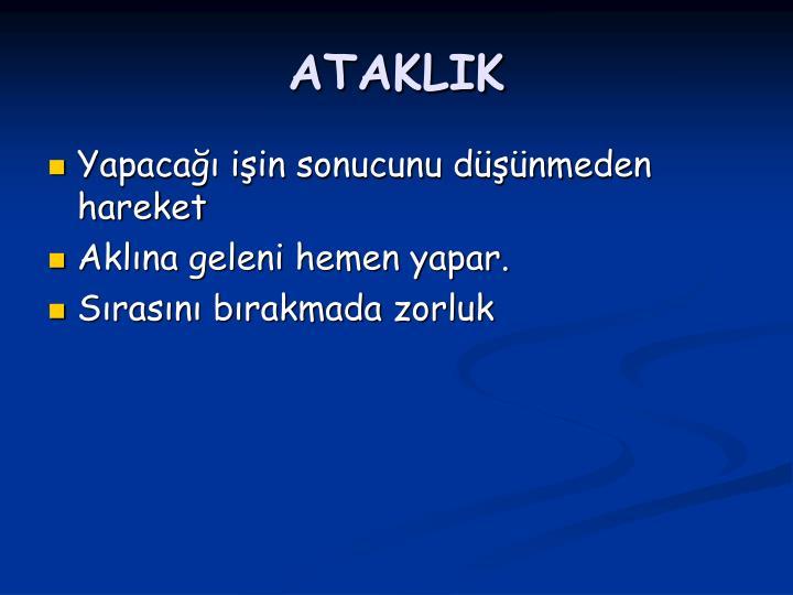 ATAKLIK