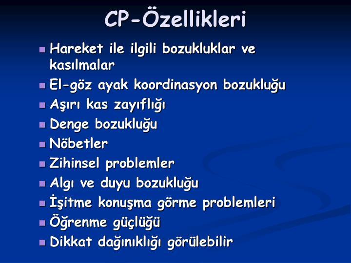 CP-Özellikleri