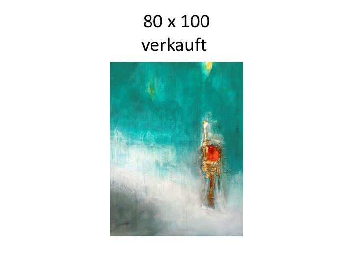 80 x 100