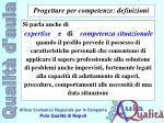 progettare per competenze definizioni4