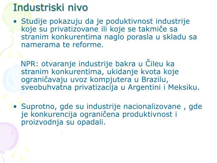 Industriski nivo