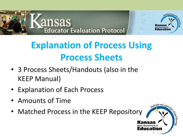 Explanation of Process Using
