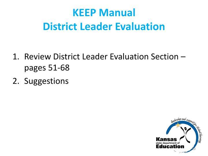 KEEP Manual