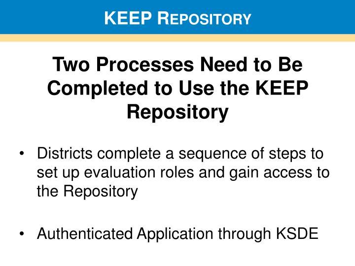 KEEP Repository