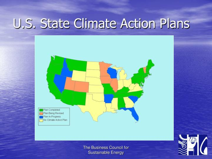 U.S. State Climate Action Plans