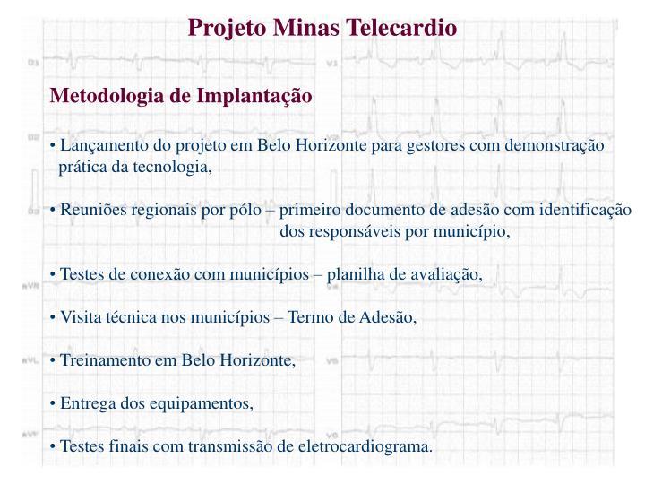 Projeto Minas Telecardio