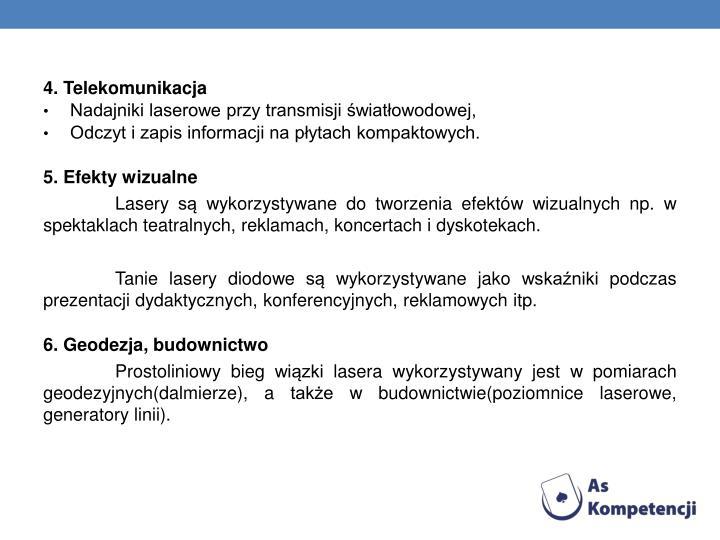 4. Telekomunikacja