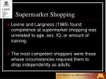 supermarket shopping