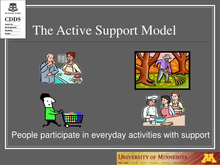 The Active Support Model