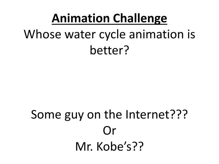 Animation Challenge