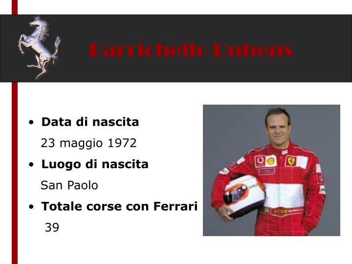 Barrichello Rubens