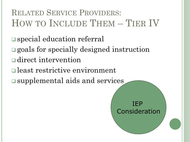 Related Service Providers: