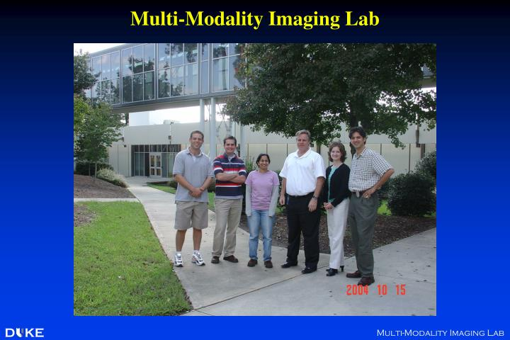 Multi-Modality Imaging Lab
