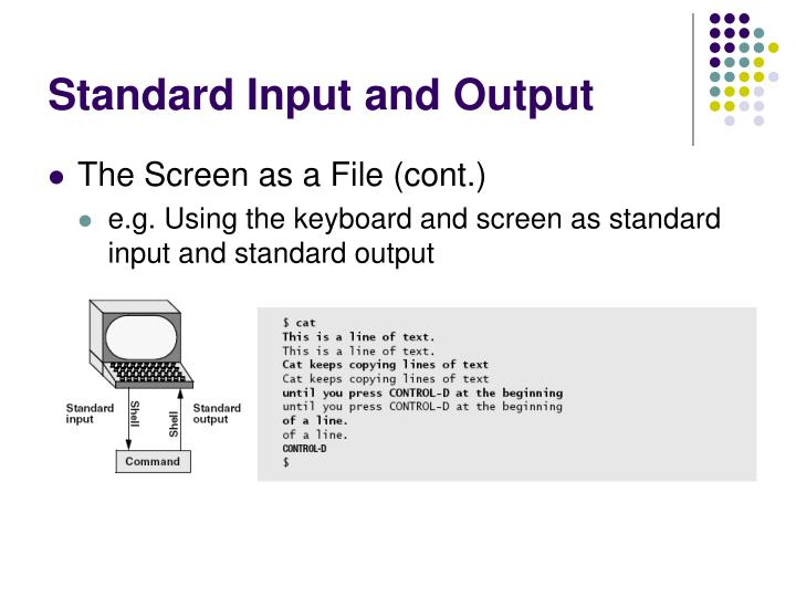 Standard Input and Output