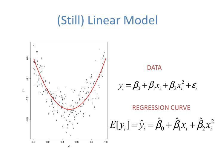 (Still) Linear Model