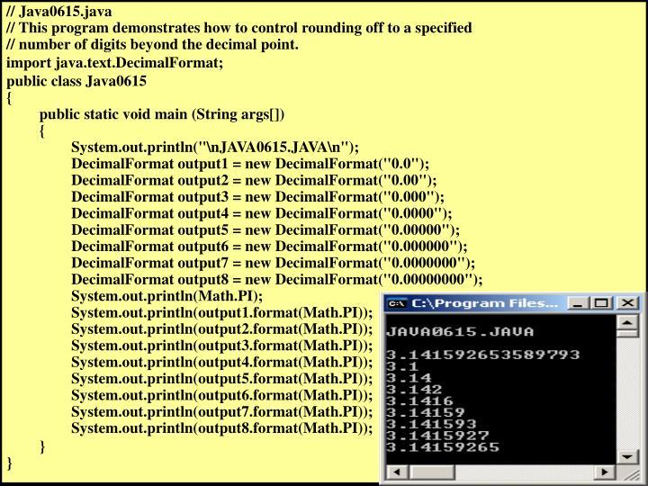 // Java0615.java