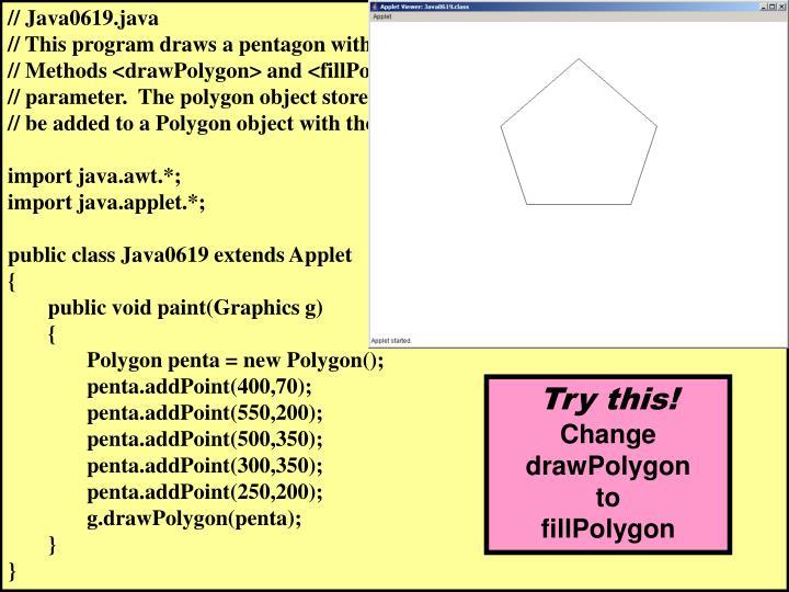 // Java0619.java