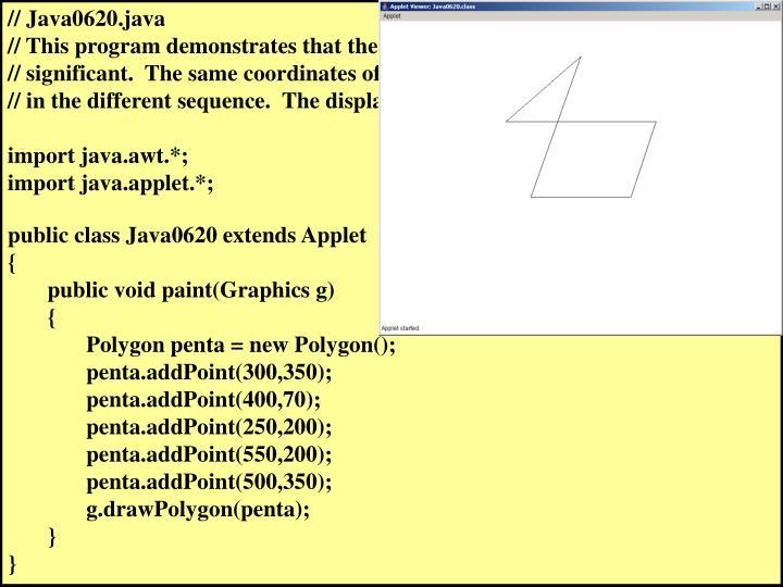 // Java0620.java