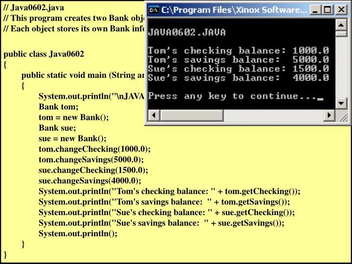 // Java0602.java