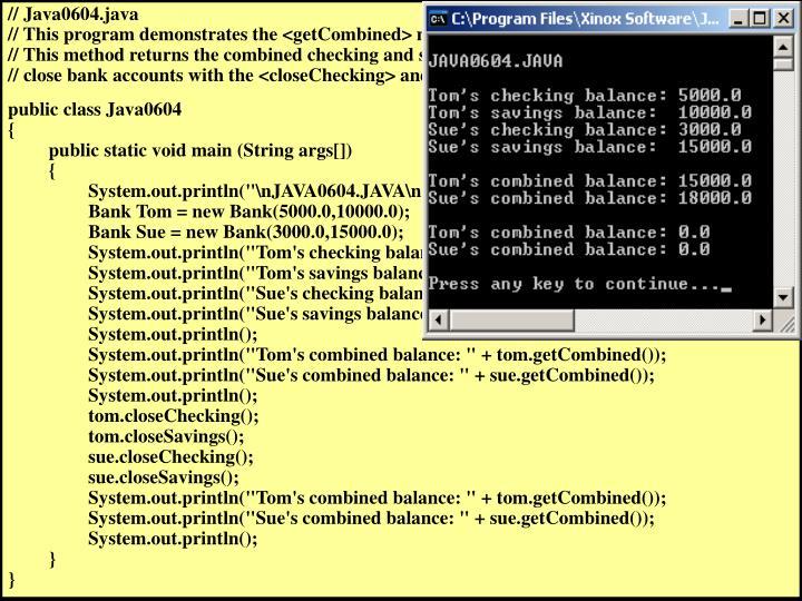 // Java0604.java