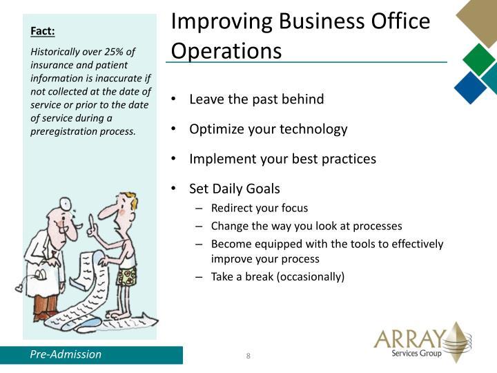 Improving Business Office Operations