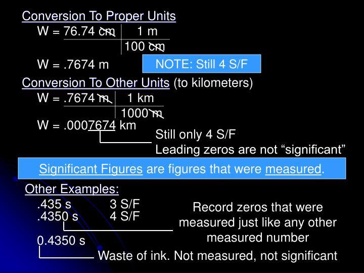 W = 76.74 cm      1 m