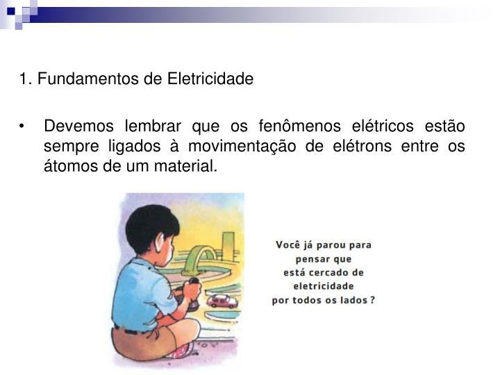 1. Fundamentos de Eletricidade