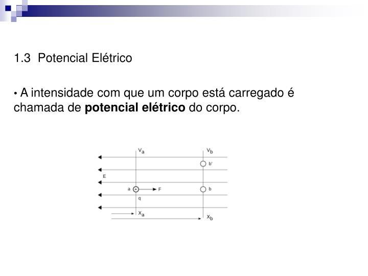 1.3  Potencial Elétrico