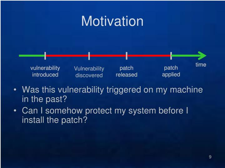 vulnerability introduced