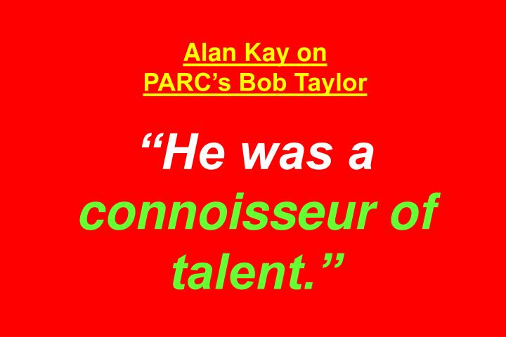 Alan Kay on