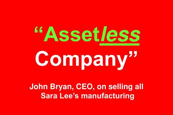 """""""Asset"""