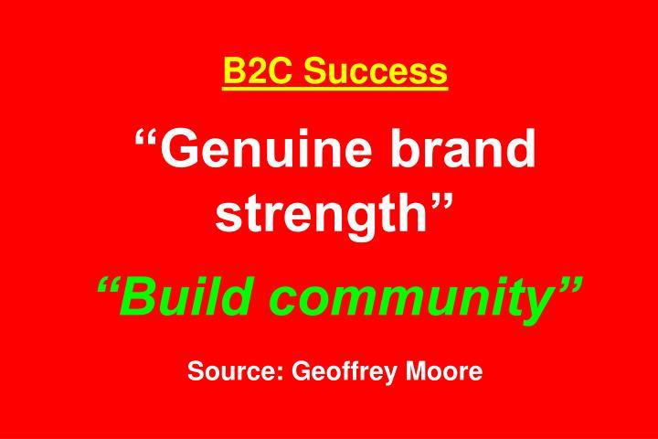 B2C Success