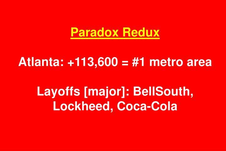 Paradox Redux