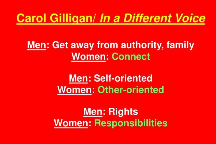 Carol Gilligan/
