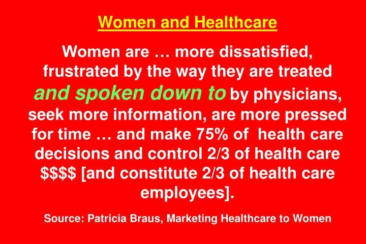 Women and Healthcare
