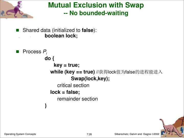 Mutual Exclusion with Swap