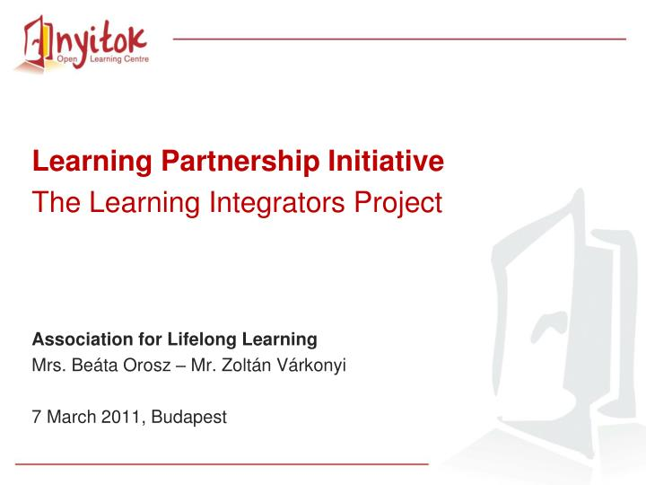 Learning Partnership Initiative