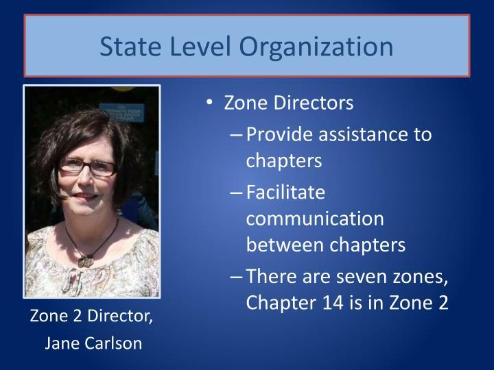 State Level Organization