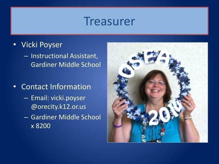 Treasurer
