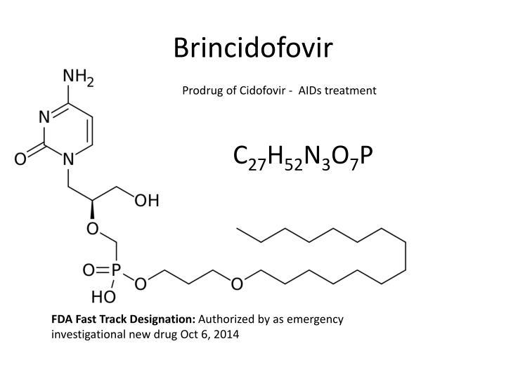 Brincidofovir