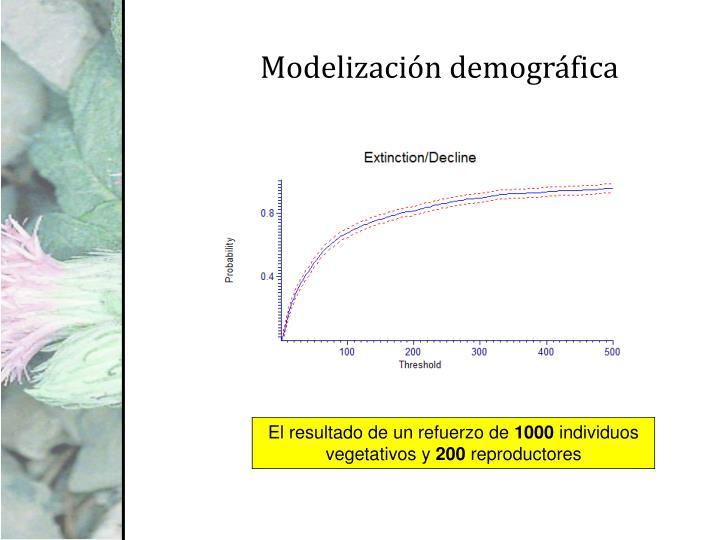Modelización demográfica
