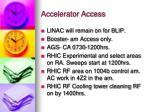 accelerator access